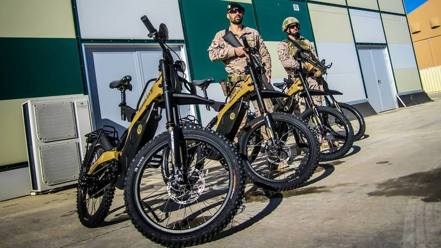 El Ejército español estrena sus Bultaco Brinco R