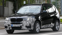 2014 BMW X3 M Sport facelift spy photo 15.10.2013