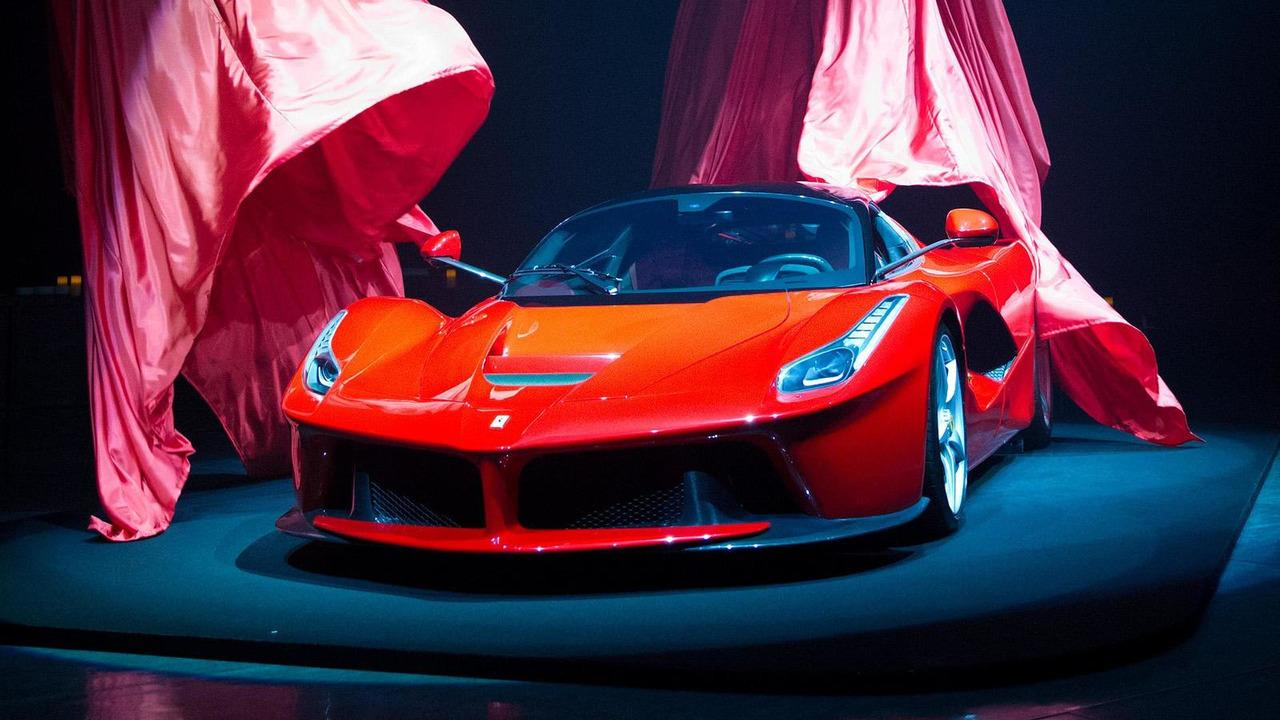 Ferrari LaFerrari Japanese debut 31.05.2013