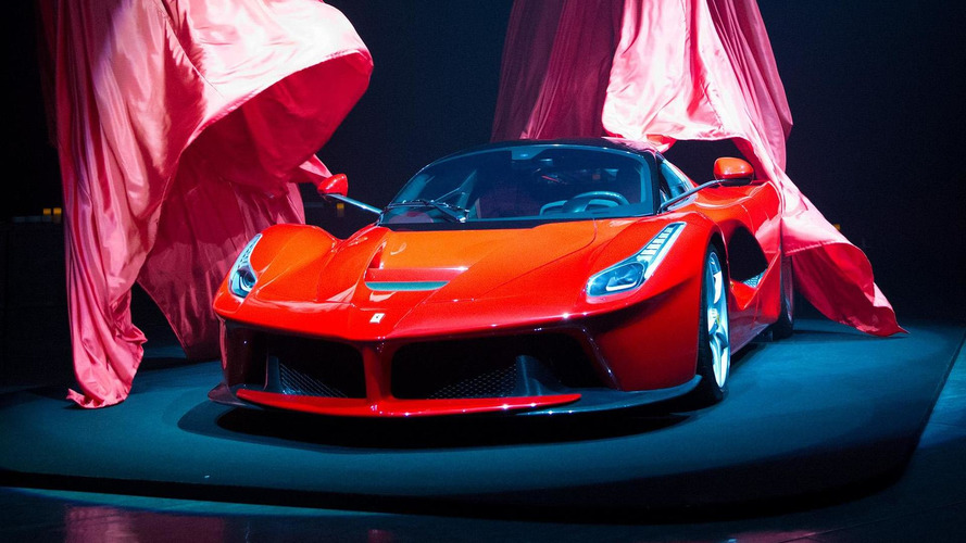 Cristiano Ronaldo celebrating new contract with Ferrari LaFerrari - report