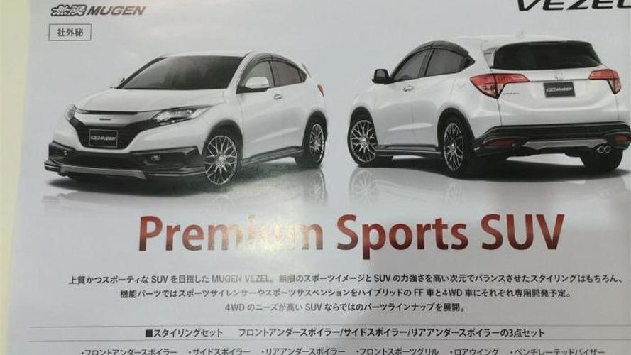 Honda Vezel by Mugen revealed via brochure scan