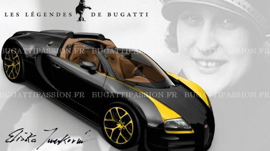 Bugatti Veyron Grand Sport Vitesse Elizabeth Junek first allegedly official image surfaces