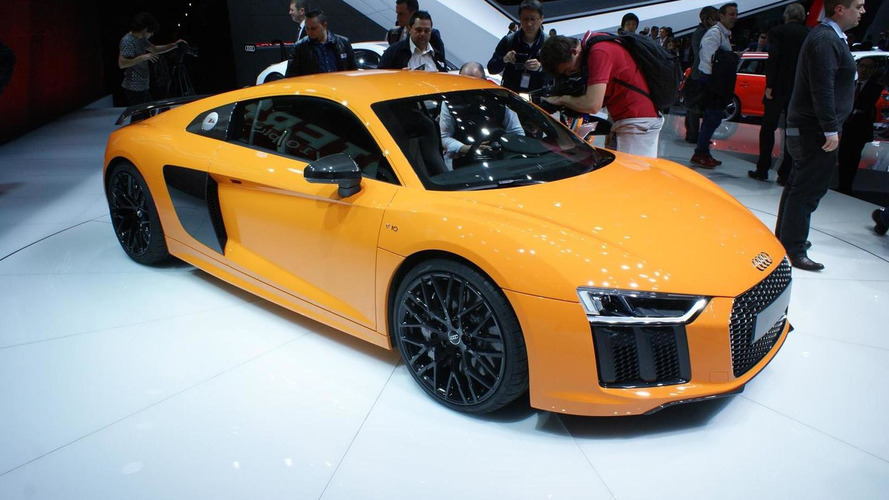Audi says weak demand killed R8's V8 engine and manual gearbox