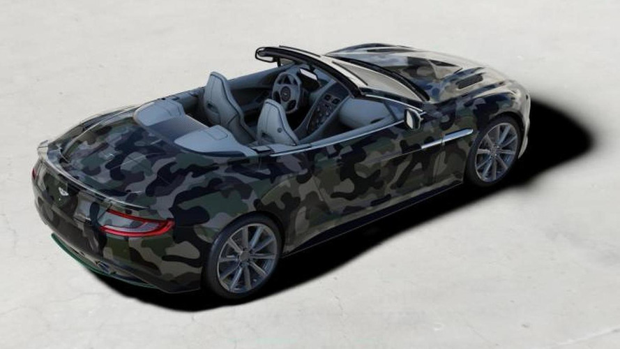 Aston Martin & Valentino team up to create a one-off Vanquish Volante