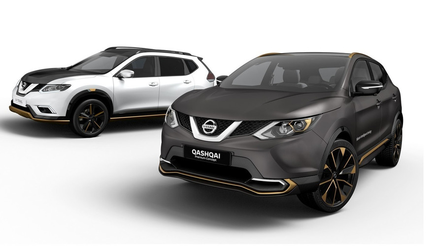 Nissan customizes Qashqai, X-Trail with Premium Concepts
