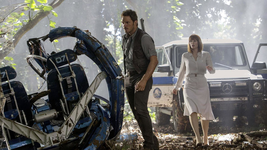 Mercedes highlights their role in Jurassic World [videos]