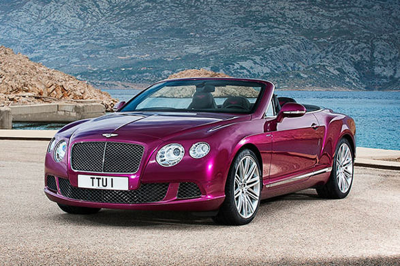 2013 Bentley Continental GT Speed Convertible: New Name, New Look