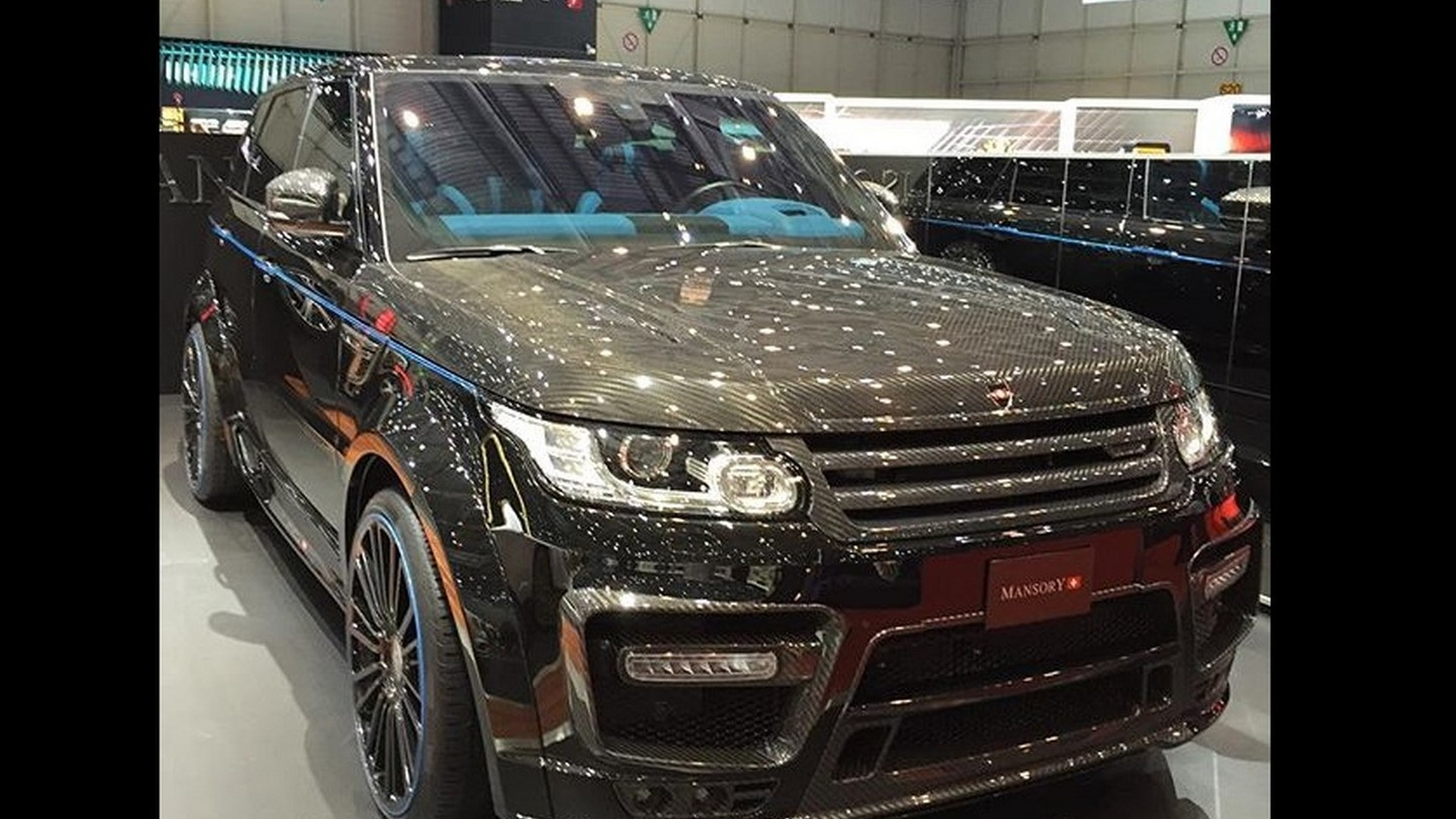 Range Rover Mansory >> Carbon Clad Mansory Range Rover Sport Elevated With 23 Inch Wheels