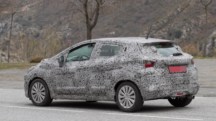 2017 Nissan Micra spy photos