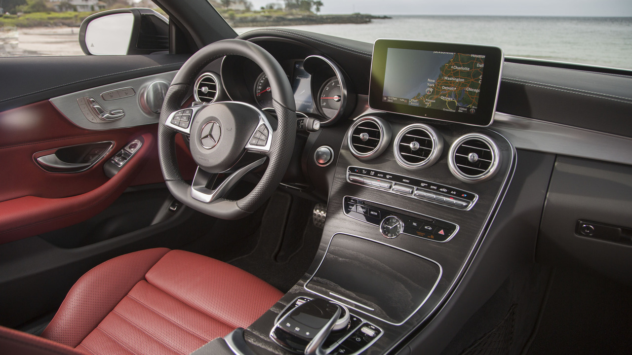 Take A Peek Inside The 2018 Mercedes C Class Facelift