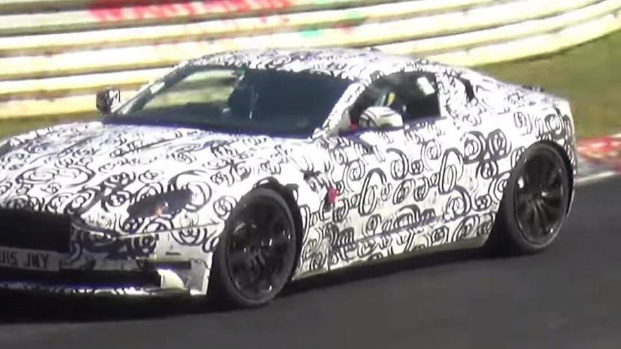 Aston Martin DB11 spied stretching out on the Nordschleife [video]