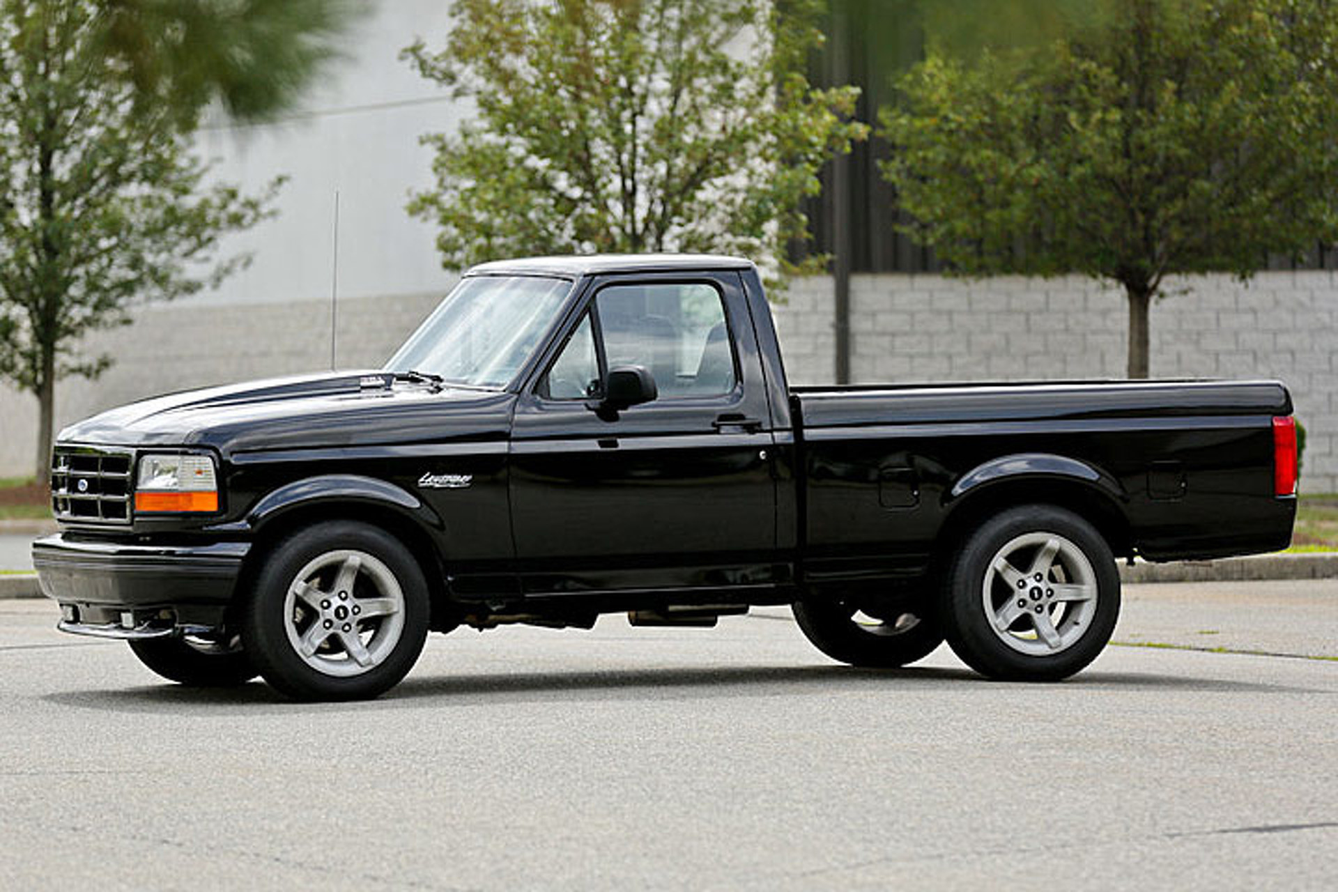 This 90s ford f 150 lightning packs a supercharged surprise