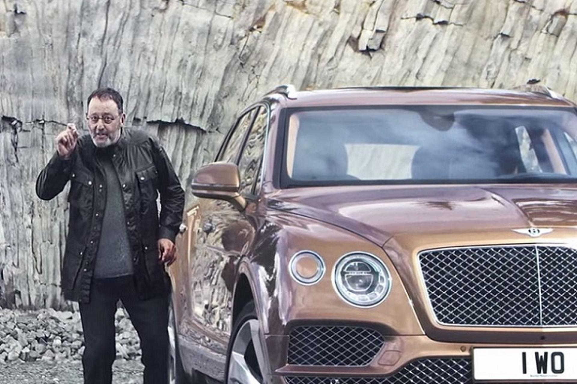 Actor Jean Reno Praises the Bentley Bentayga