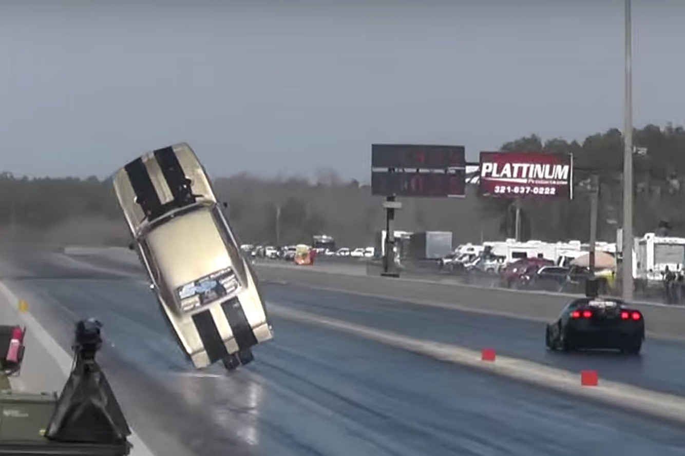Watch These Incredible Drag Strip Bloopers, Crashes, and Saves