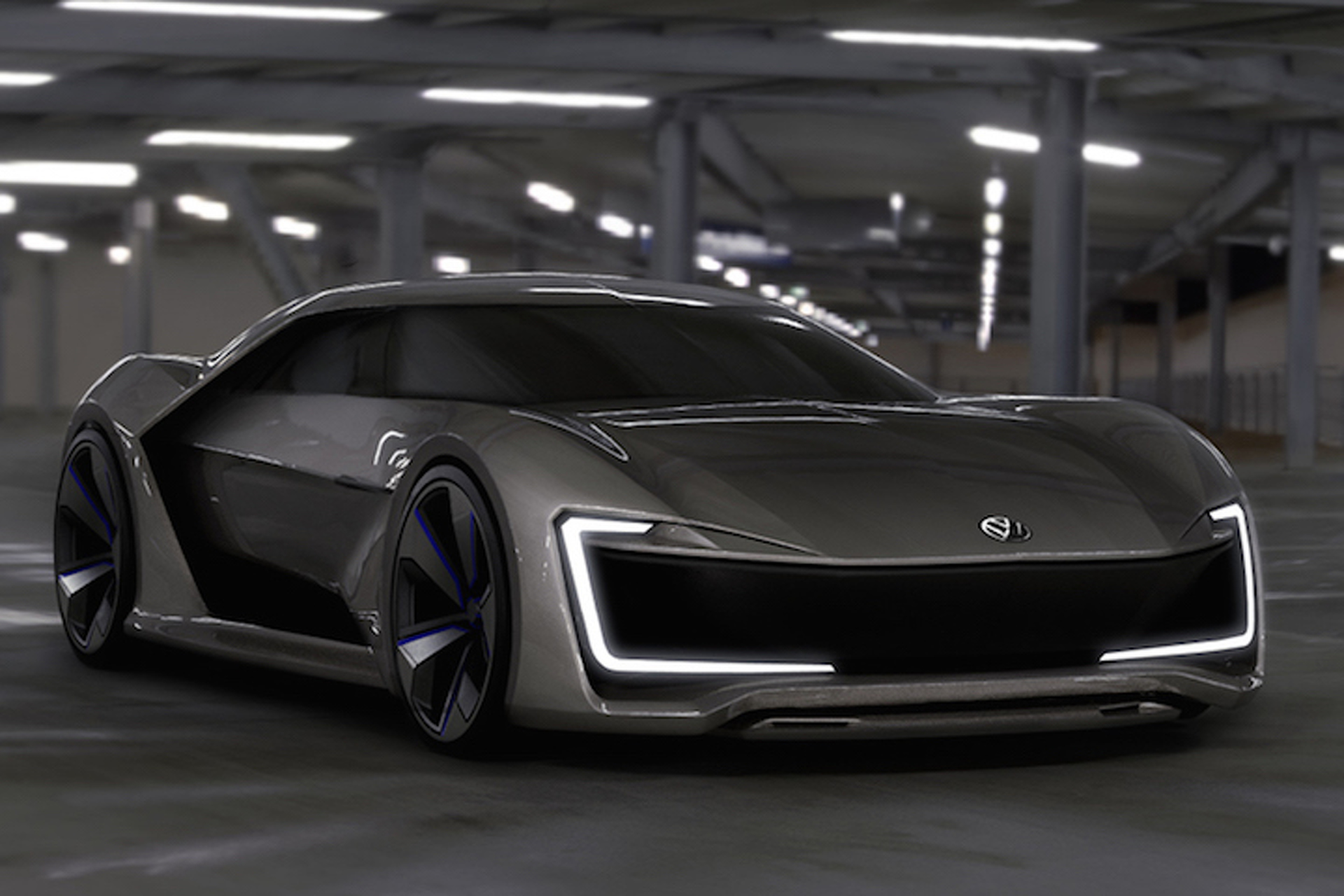 Stunning Volkswagen Sports Car Concept Wants Us To Look Towards The