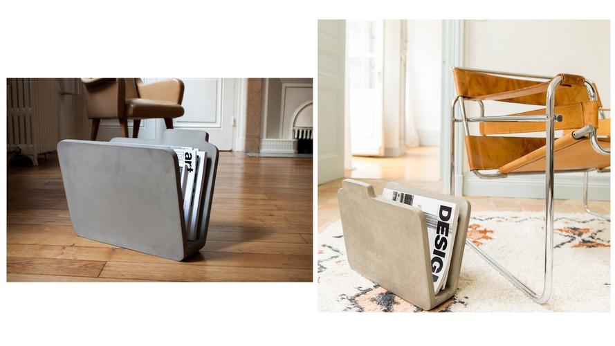 FOLDER Magazine Rack designed by Bertrand Jayr