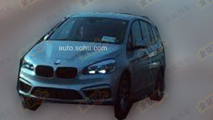 BMW 2-Series Active Tourer 7-seater returns in new revealing spy photos