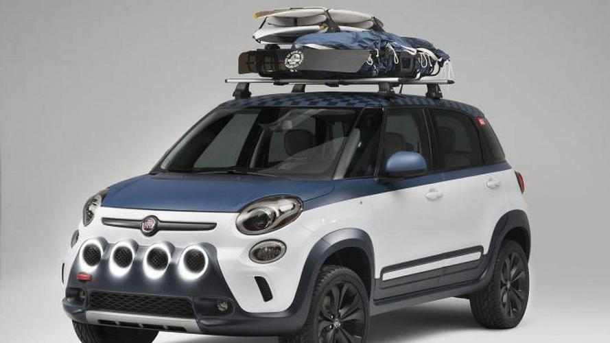 Fiat 500L Vans concept announced for 2014 Vans US Open of Surfing
