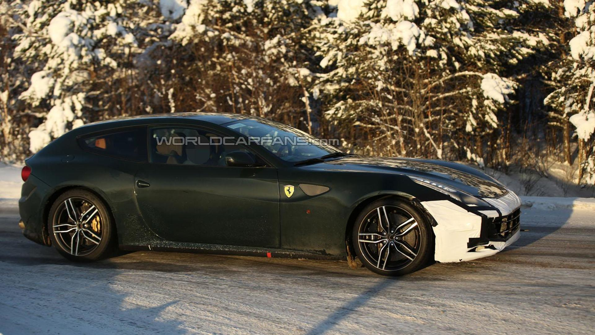 Ferrari Ff Facelift To Keep V12 But Customers Are In For A Surprise