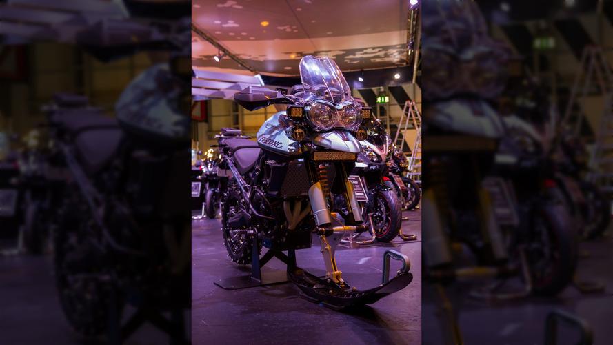 Triumph unveils ultimate winter bike