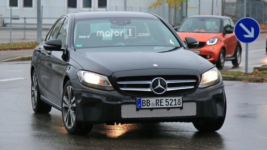 La Mercedes Classe C restylée 2017 en photos espion