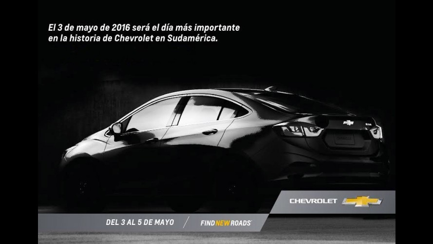 Novo Cruze: GM divulga foto e confirma data de apresentação na Argentina