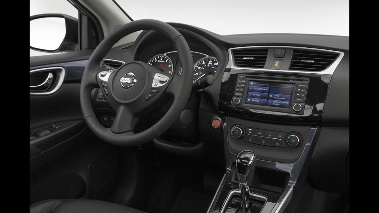 Novo Nissan Sentra 2017 Chega As Lojas Em Junho Somente Com Cambio Cvt