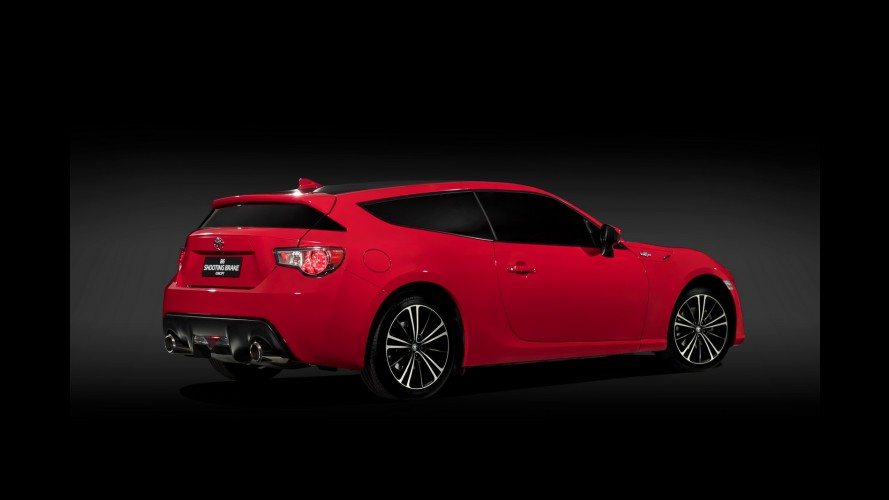 Toyota surpreende com inusitada versão shooting brake do GT 86