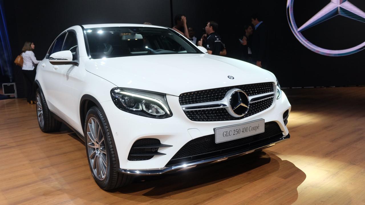 Salão do Automóvel: Mercedes lança GLC 250 Coupe no Brasil por R$ 299,9 mil - veja todas as atrações
