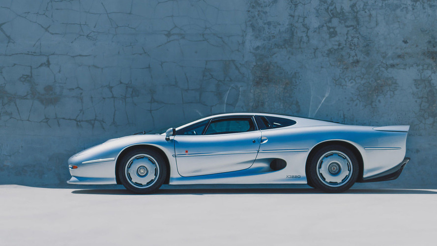 1994 Jaguar XJ220 is a rare eBay find