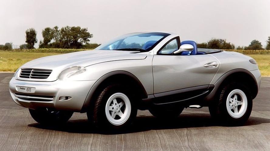 Heuliez Mercedes Intruder Concept (1996) - Un Cabriolet-SUV avant l'heure
