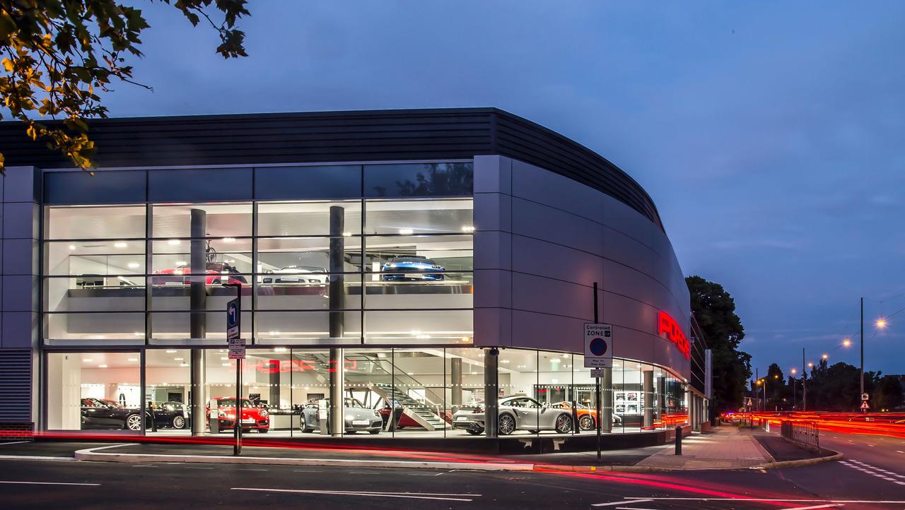 Porsche concession