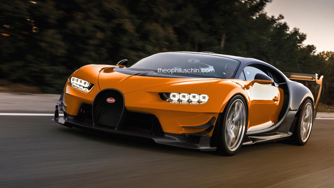 Bugatti Chiron SuperSport Rendering