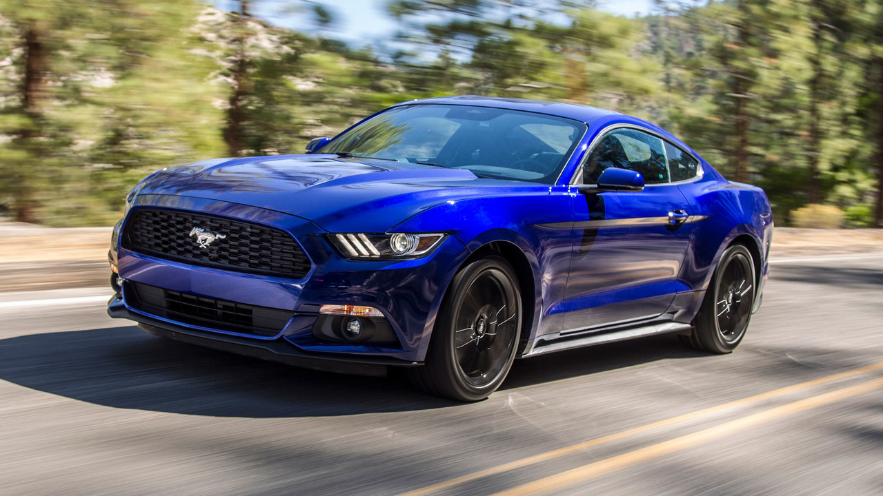 2018 Ford Mustang 2017