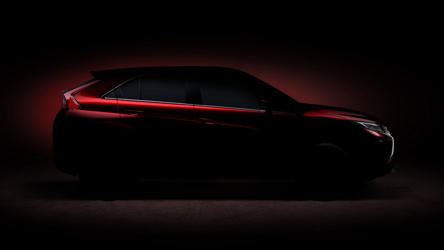 Mitsubishi compact SUV teased for Geneva, Eclipse name rumored