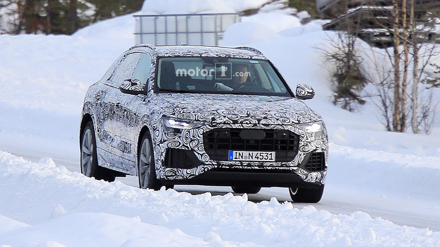 Photos espion - L'Audi Q8 finalise ses tests