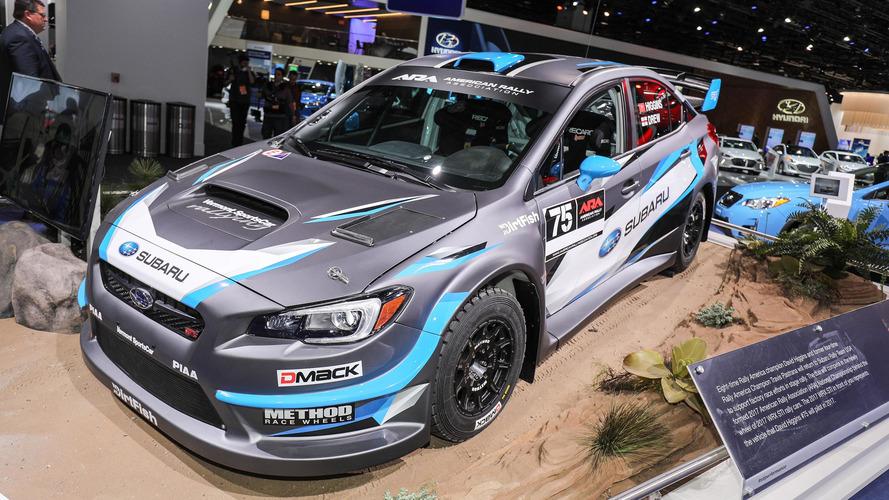 Subaru WRX STI Rally Car: Detroit 2017