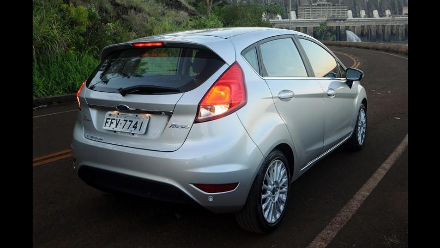 Pé no freio: Ford afasta funcionários e reduz produção do New Fiesta no ABC