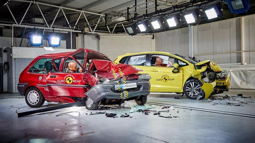 VIDÉO - Déjà 20 ans de crash-test Euro NCAP