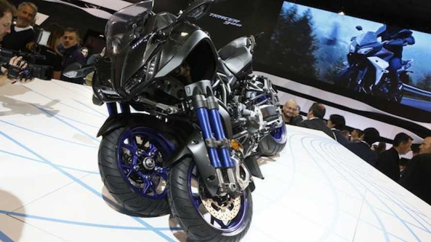 Yamaha: in futuro altre moto tre ruote oltre alla Niken!