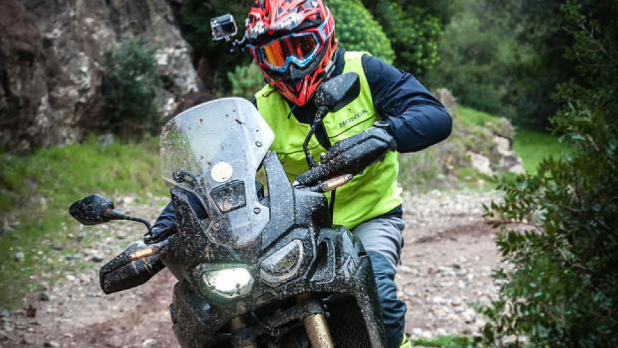 Honda Africa Twin True Adventure Sardegna 2016