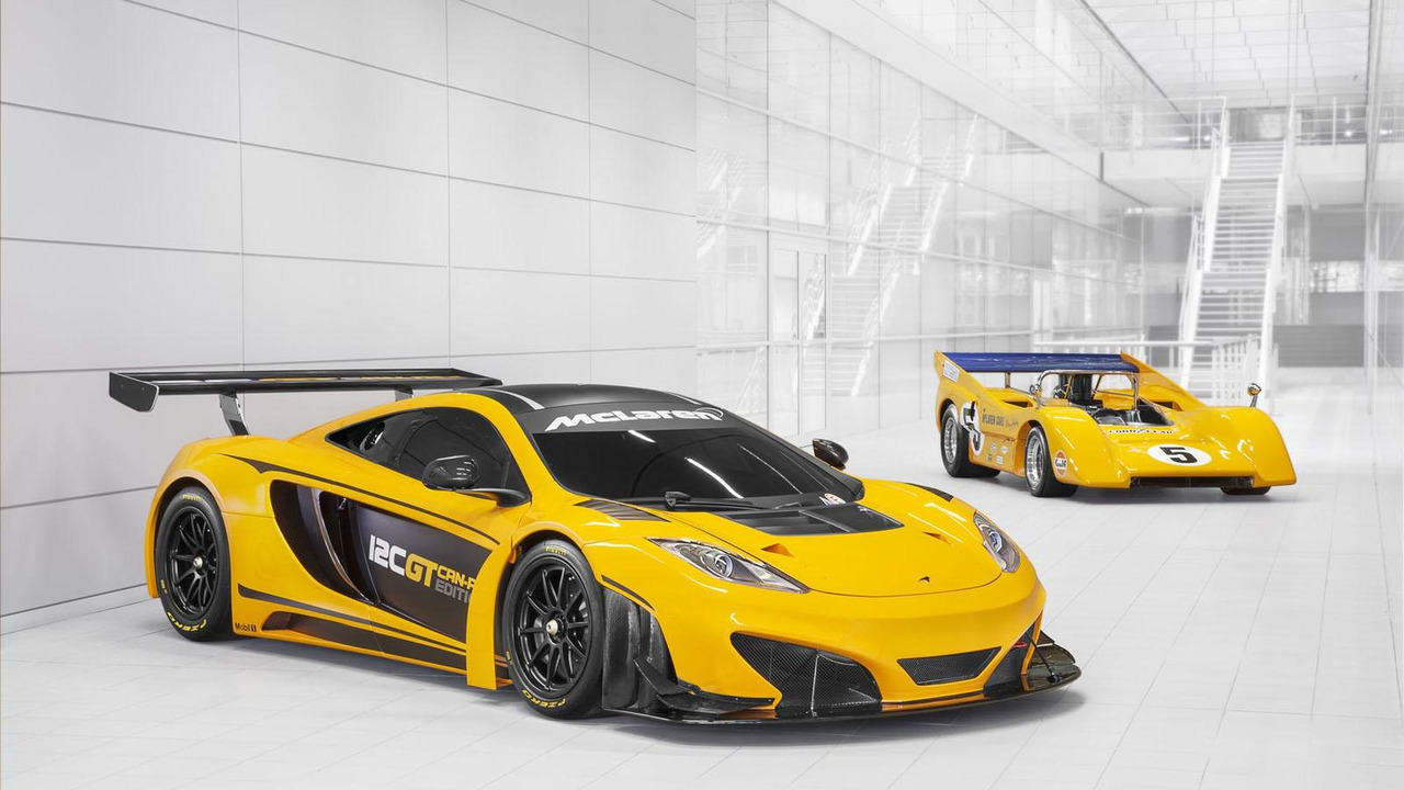 McLaren 12C GT Can-Am Edition 29.4.2013