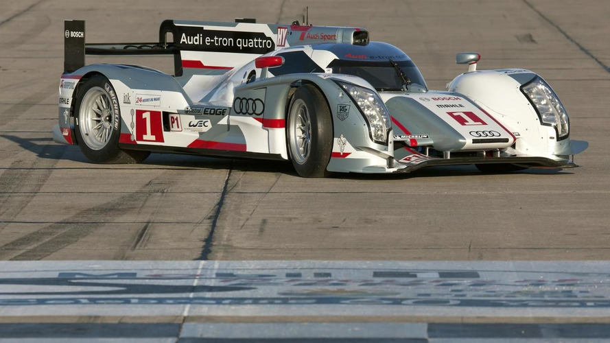 Two LMP1 Audi R18 e-tron quattro cars to compete at Sebring
