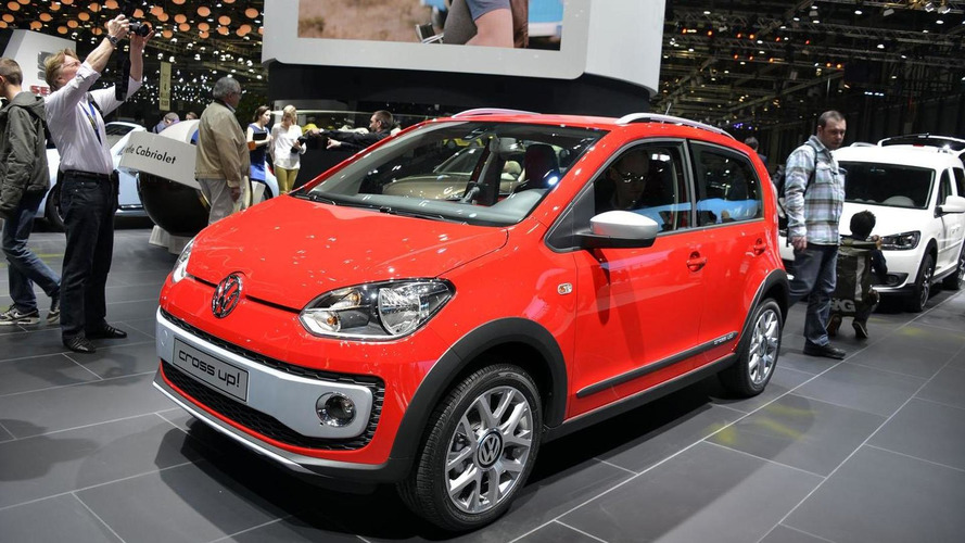 Volkswagen Cross Up! unveiled in Geneva