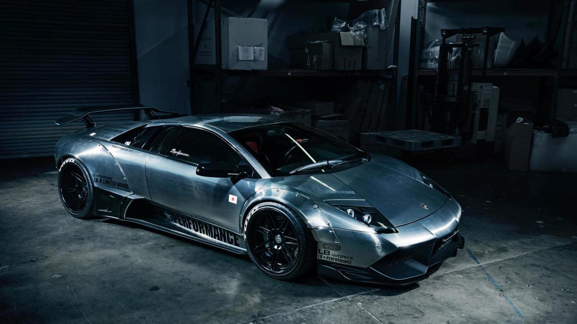 Lamborghini Murcielago With Brushed Aluminum Wide Body Kit