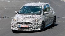 Next-Gen Toyota Yaris Hybrid Spy Photos