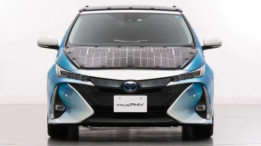 Toyota Prius plug-in hybride solaire