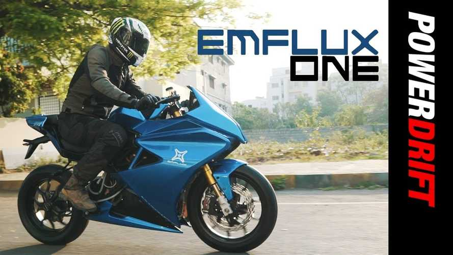 Emflux One: India's New Electric Superbike