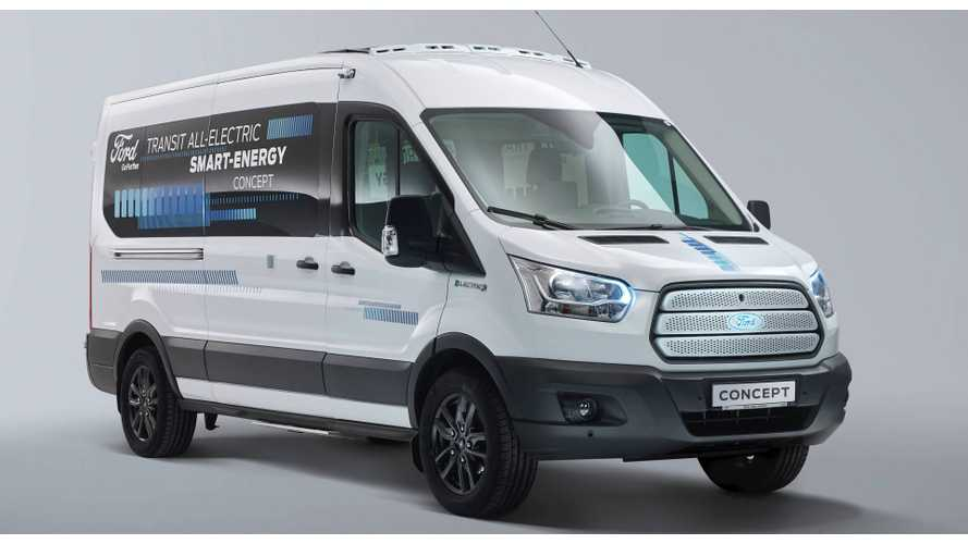 Ford Releases More Details On Transit Smart Energy EV Concept