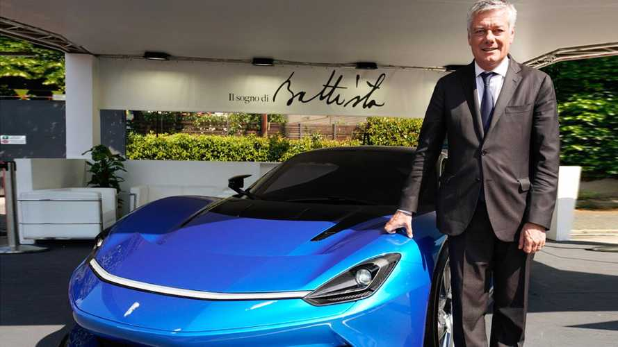Pininfarina Battisa at Park Valentino 2019
